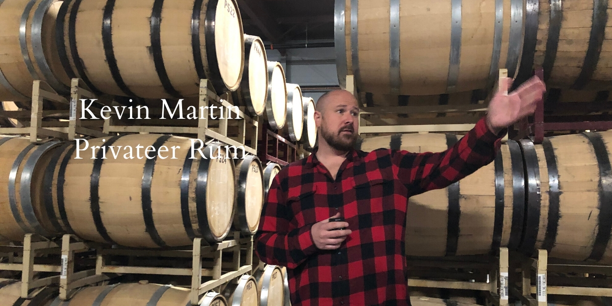 Kevin Martin of Privateer Rum