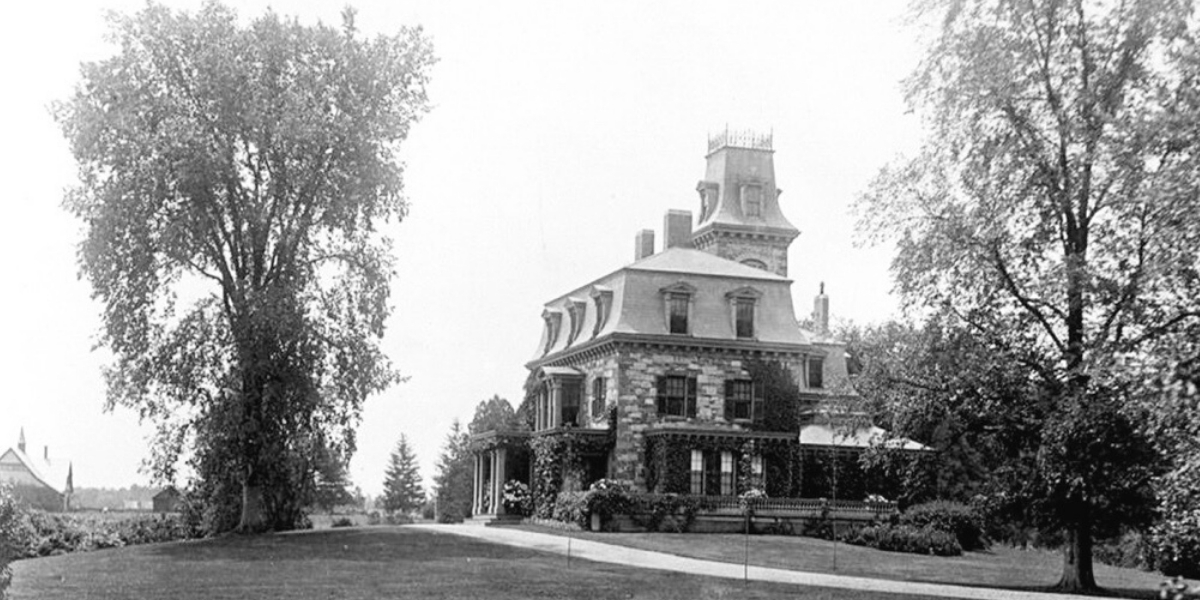 Joseph Burnett House Circa 1910