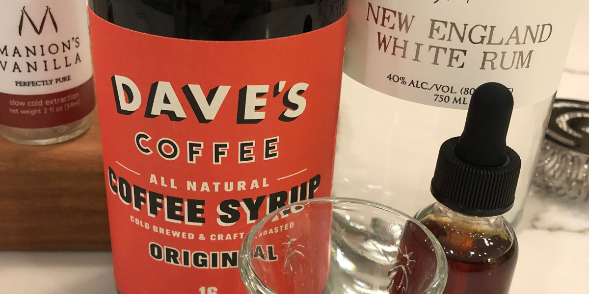 Dave's Coffee Cocktail made with Manion's Vanilla
